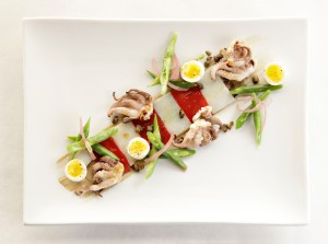 Baby Octopus Salad Nicoise